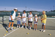 Tennis lessons for kids, Algarve